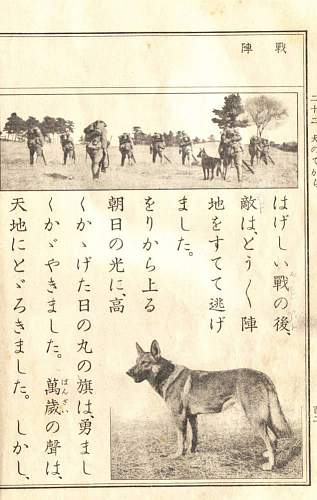 Japanese Army Dogs