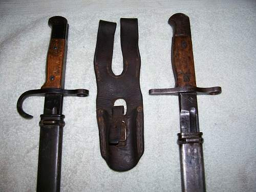 Arisaka bayonets