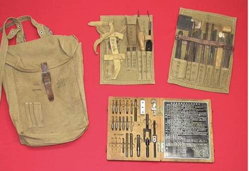 Possible Contents of Cavalry Related Satchel