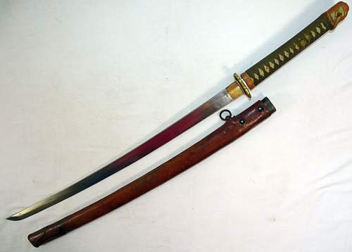 WWII Japanese Army Officers Sword