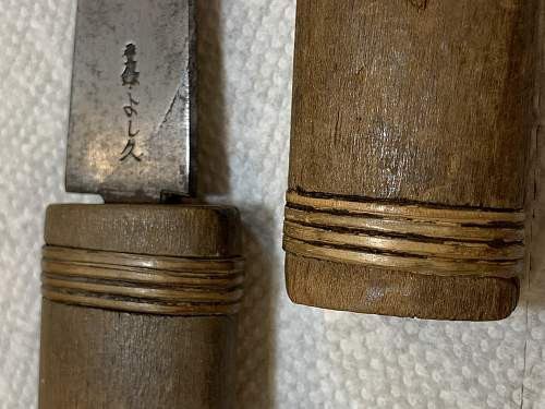 Help Identify knives and translations