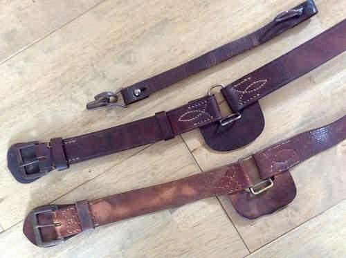 My sword belts