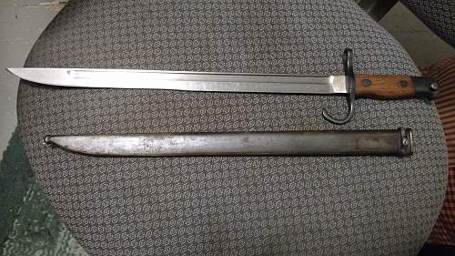 New bayonet