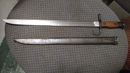 New bayonet