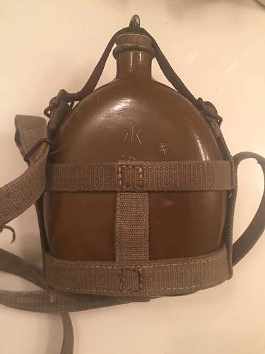 Wwii japnese canteen(army?)