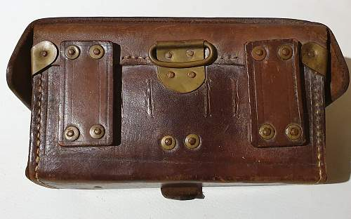 Japanese Ammo pouch trench art