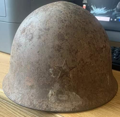Original Type 90 Japanese Helmet?