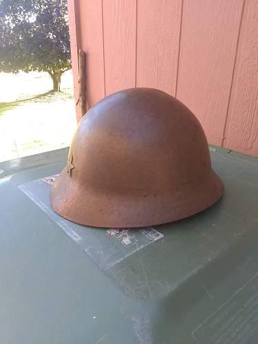 Odd Japanese Helmet