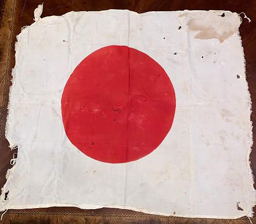 My first Japanese flag