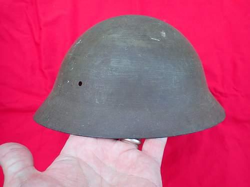 Japanese Civil Defense Helmet Help Please