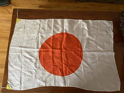 Japanese flag, authentic?