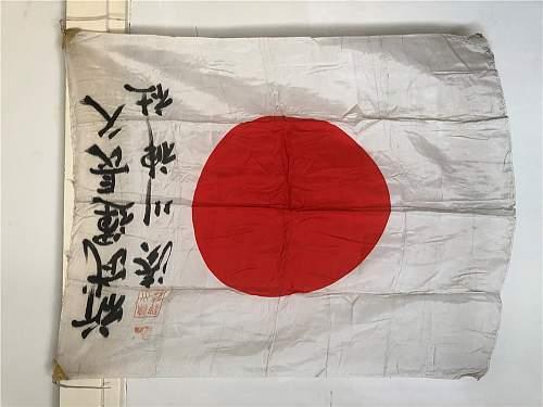 Original WW II Japanese Flag??