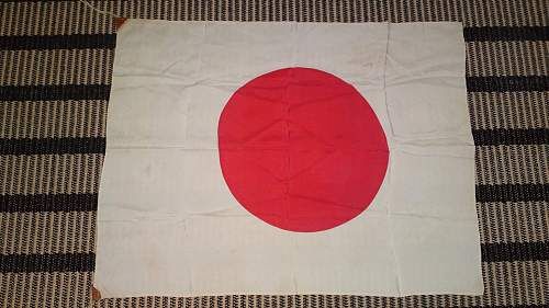 Jap flag, finally here