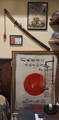 WWII Japanese Officers Sword w/ Tassel