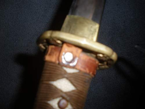 japanese army sword