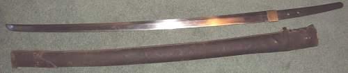 Japanese Sword 2.info please.