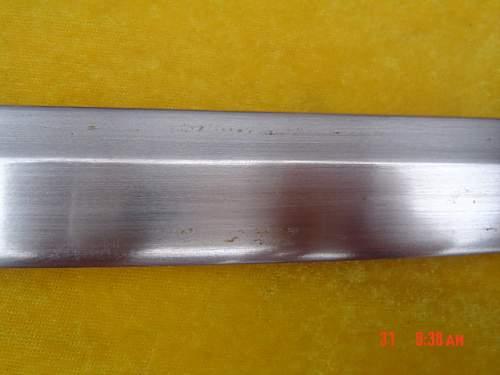WWII Japnanese Sword Authentic?