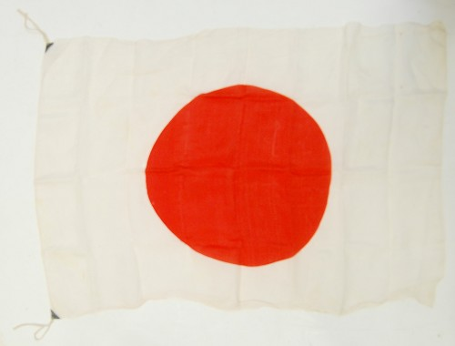 Japanese and Italian Flags