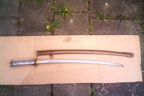 Japanese non-commissioned officer sword
