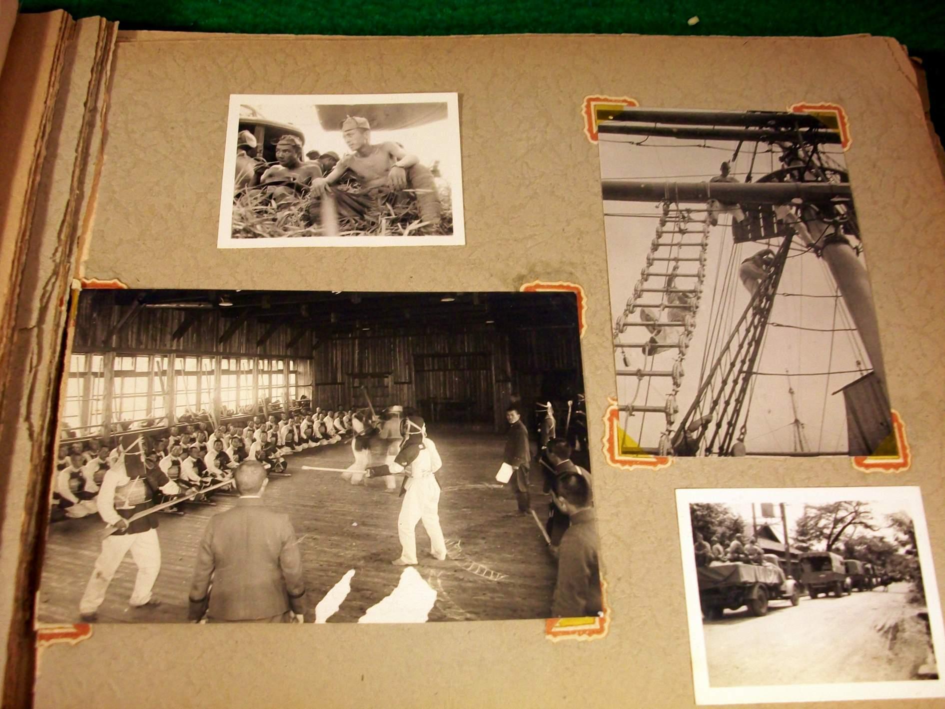 ww2 japanese soldier photo album  anyone read japanese