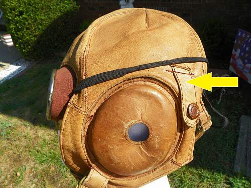 Japanese summer flight helmet and goggles pick up today