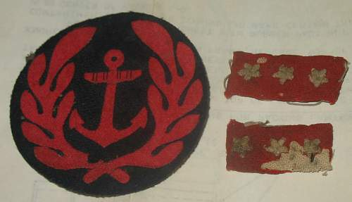 Help Id'ing Japanese Navy Patch + 2 others