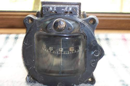 Japanese Aircraft Compass Identification and valuation