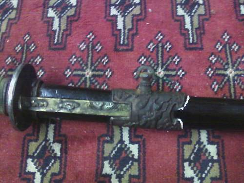 Japanese Sword WWII Real or Fake?  Help needed!
