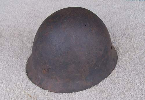 Japanese Helmet Find - Battlefield Pickup?