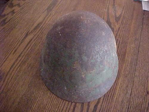 Japanese helmet shell