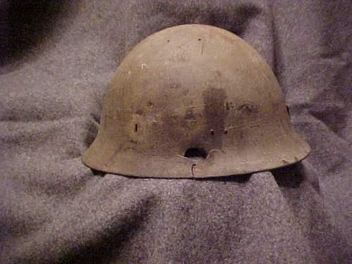 Another Japanese helmet shell