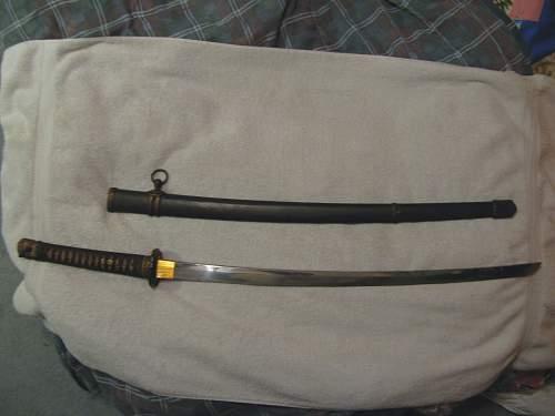 WWII Japanese Army Katana Please Help Identify