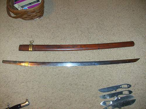 """Is this a real """"Last Ditch"""" Japanese Katana or a Chinese fake?"""