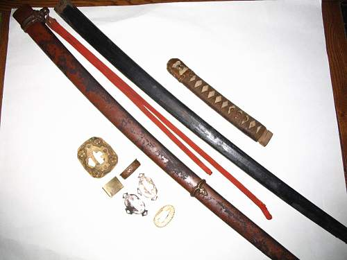 Can anyone tell me about this Japanese sword ?