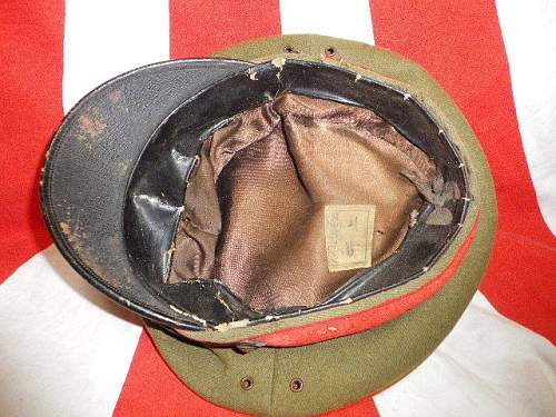 Japanese officers cap