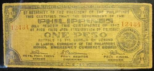 Click image for larger version.  Name:S135E Bohol 1 peso 1942.jpg Views:151 Size:187.5 KB ID:350402