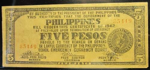 Click image for larger version.  Name:S136D Bohol 5 pesos 1942.jpg Views:178 Size:189.3 KB ID:350403