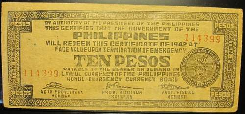 Click image for larger version.  Name:S137E Bohol 10 pesos 1942.jpg Views:289 Size:185.6 KB ID:350404