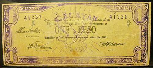 Click image for larger version.  Name:S187 Cagayan 1 peso 1942.jpg Views:269 Size:161.4 KB ID:350411