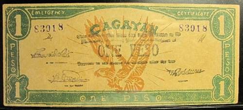 Click image for larger version.  Name:S188 Cagayan 1 peso 1942.jpg Views:127 Size:163.1 KB ID:350412