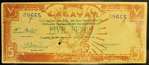 Click image for larger version.  Name:S191B Cagayan 5 pesos 1942.jpg Views:147 Size:164.8 KB ID:350414