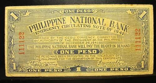 Click image for larger version.  Name:S215 Cebu 1 peso 1941.jpg Views:290 Size:236.2 KB ID:350419