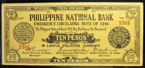 Click image for larger version.  Name:S217A Cebu 10 pesos 1941.jpg Views:128 Size:212.9 KB ID:350421