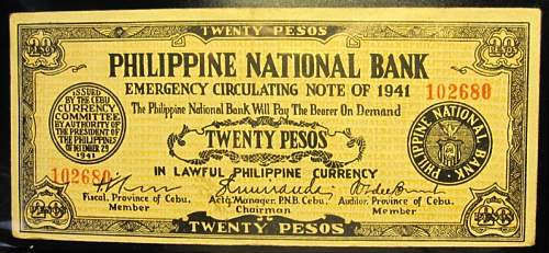 Click image for larger version.  Name:S218 Cebu 20 pesos 1941.jpg Views:252 Size:224.1 KB ID:350423