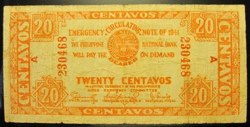 Click image for larger version.  Name:S303 Iloilo 20 centavos 1941.jpg Views:185 Size:187.2 KB ID:350424