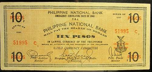 Click image for larger version.  Name:S309A Iloilo 10 pesos 1941.jpg Views:239 Size:193.5 KB ID:350427