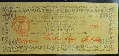 Click image for larger version.  Name:S488A Mindanao 10 pesos 1943.jpg Views:210 Size:167.8 KB ID:350508