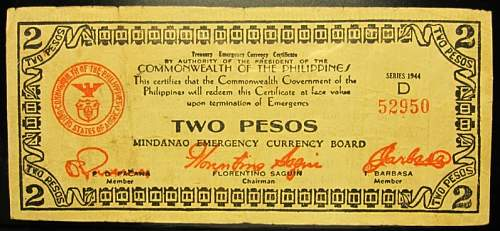 Click image for larger version.  Name:S516A Mindanao 2 pesos 1944.jpg Views:164 Size:193.0 KB ID:350523