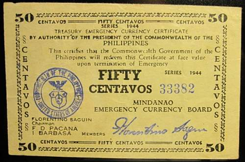 Click image for larger version.  Name:S522A Mindanao 50 centavos 1944.jpg Views:170 Size:213.6 KB ID:350530