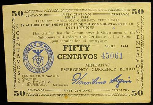 Click image for larger version.  Name:S522B Mindanao 50 centavos 1944.jpg Views:176 Size:235.8 KB ID:350531